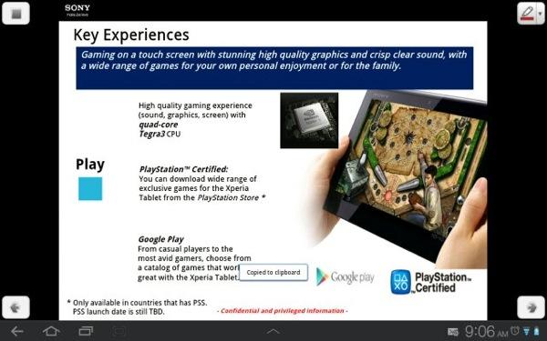 Xperia Tablet 11