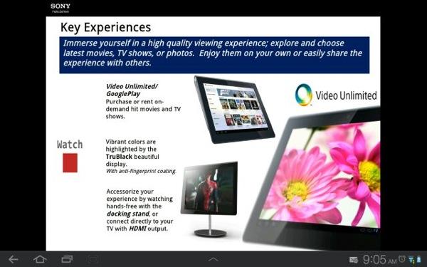 Xperia Tablet 7