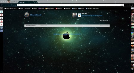 Apple green space screenshot
