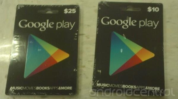Google play cards 2