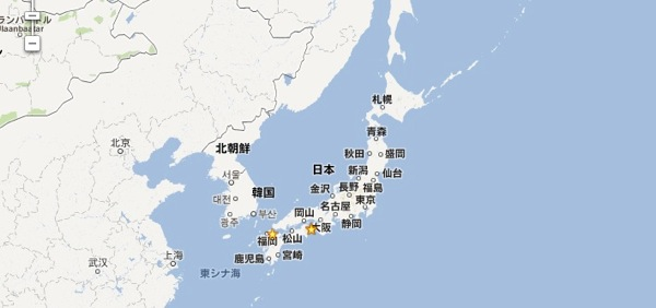 Google map 20120921