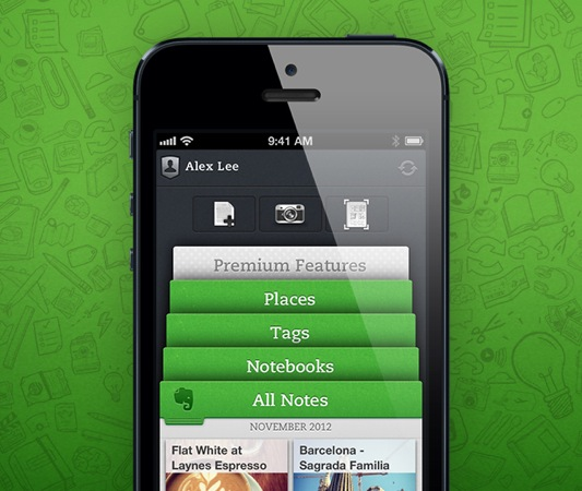 Ios new evernote20121103