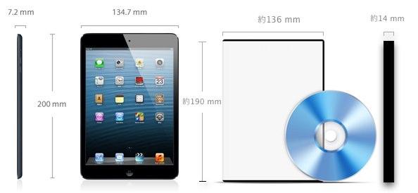 Ipad mini size4