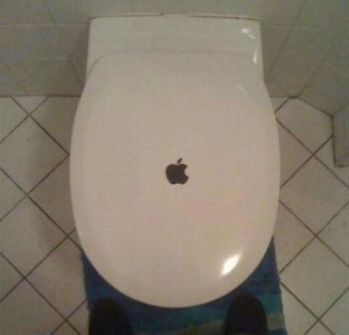 Is this apples toilet seat cover the ipoo