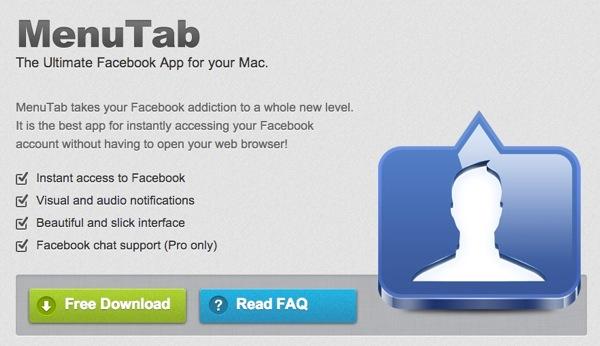 Menu tab for facebook20121101 4