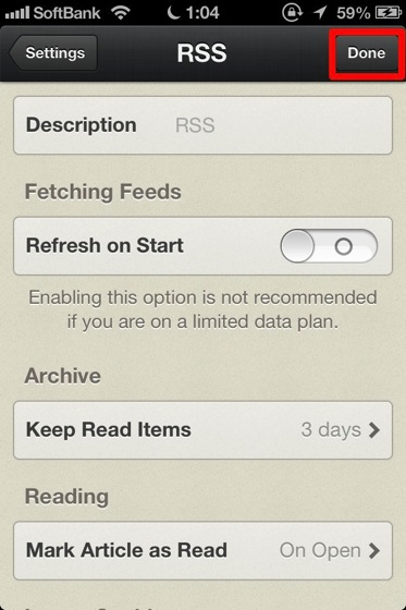 Reeder for iphone inport google 20130504 3