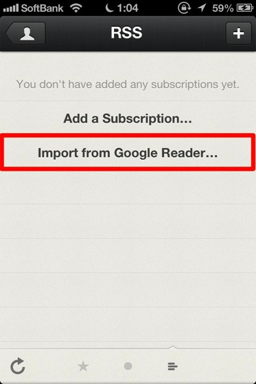 Reeder for iphone inport google 20130504 5
