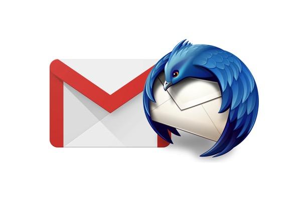 Thunderbird on gmail
