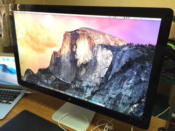 Thunderbolt display cleaning 20150502 1