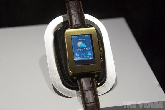 Toshiba smartwatch 20130110 0