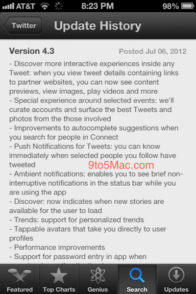 Twitter for iphone 20120609 002